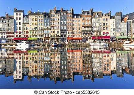 Stock Images of Honfleur, France.
