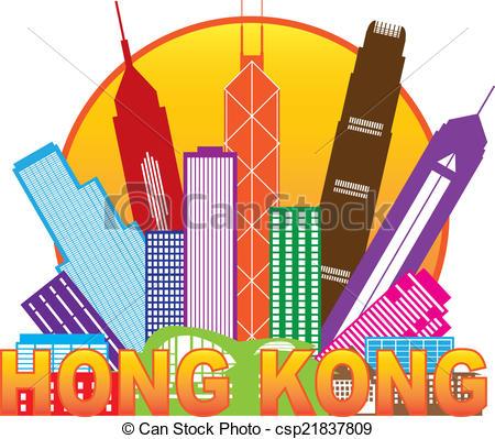 Hong kong clipart.