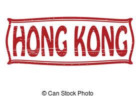 Vector Clipart of stamp with Hong Kong, SAR.