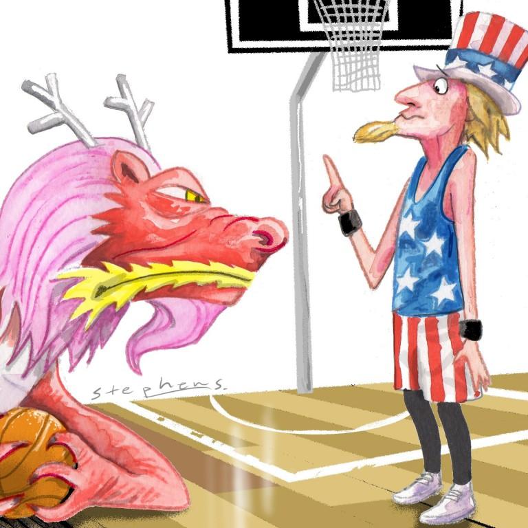 With polarising perspectives on the NBA and Hong Kong.