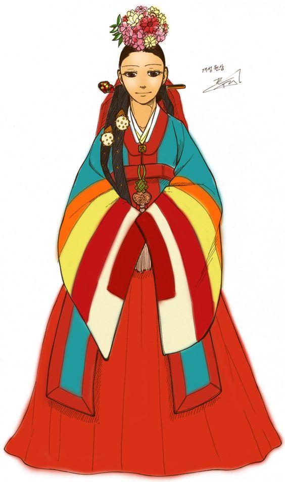 Hanbok, Gae.