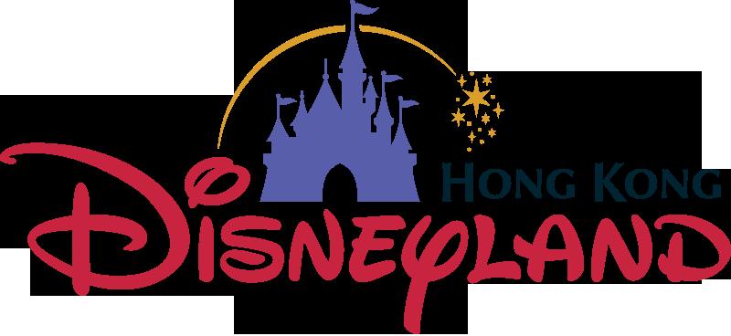 Hong Kong Disneyland Logos Clipart.