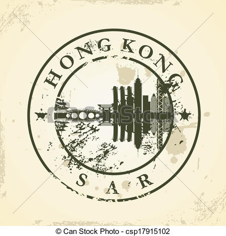 Travel Hong Kong Clip Art.