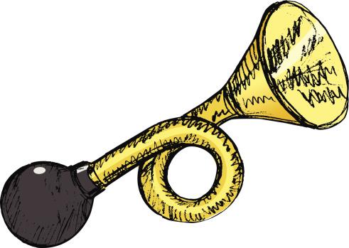 Honk Horn Clip Art, Vector Images & Illustrations.