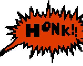 Car honk clipart.