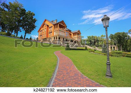 """Stock Photo of """"Honka"""" club house k24827192."""