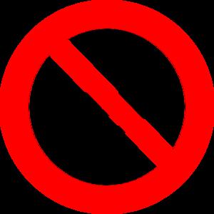 No Honking Clip Art at Clker.com.