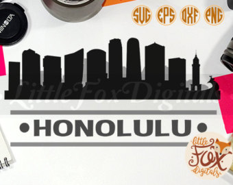 Honolulu clipart.