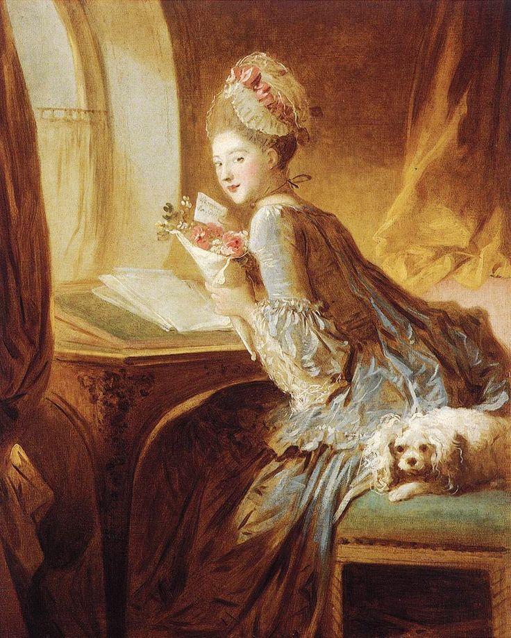 Jean Honore Fragonard The Love Letter.