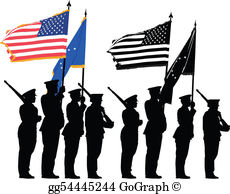 Honor Guard Clip Art.