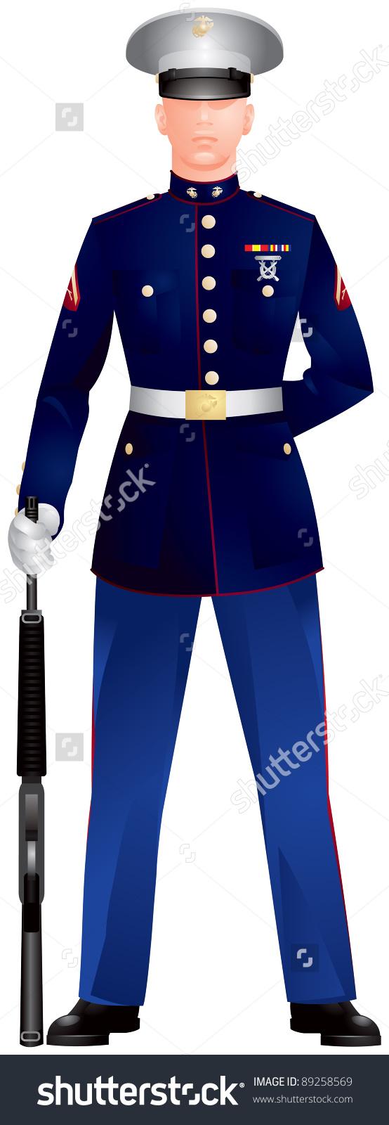 Honor Guard Clip Art.