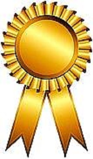 Long service award clipart.