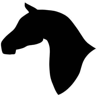 Horse Head Silhouette.