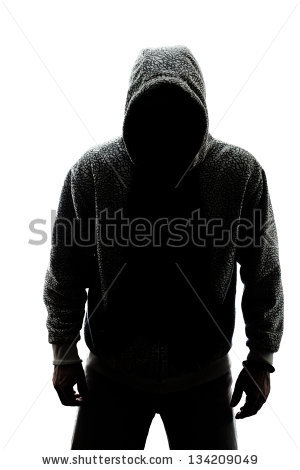 Hooded Figure Silhouette Drawing Hooded man silhouette hooded.