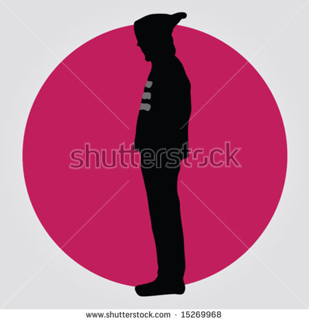 Hooded Man Silhouette Stock Vectors, Images & Vector Art.