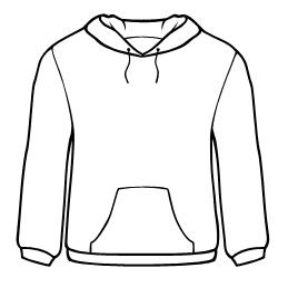 Sweatshirt clipart #13