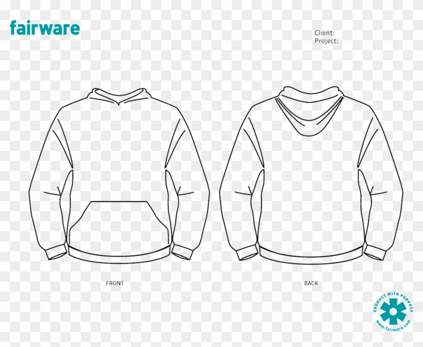 Banner Black And White Download Drawing Hoodie Outline.