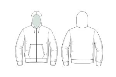 Hoodie design template png AbeonCliparts.