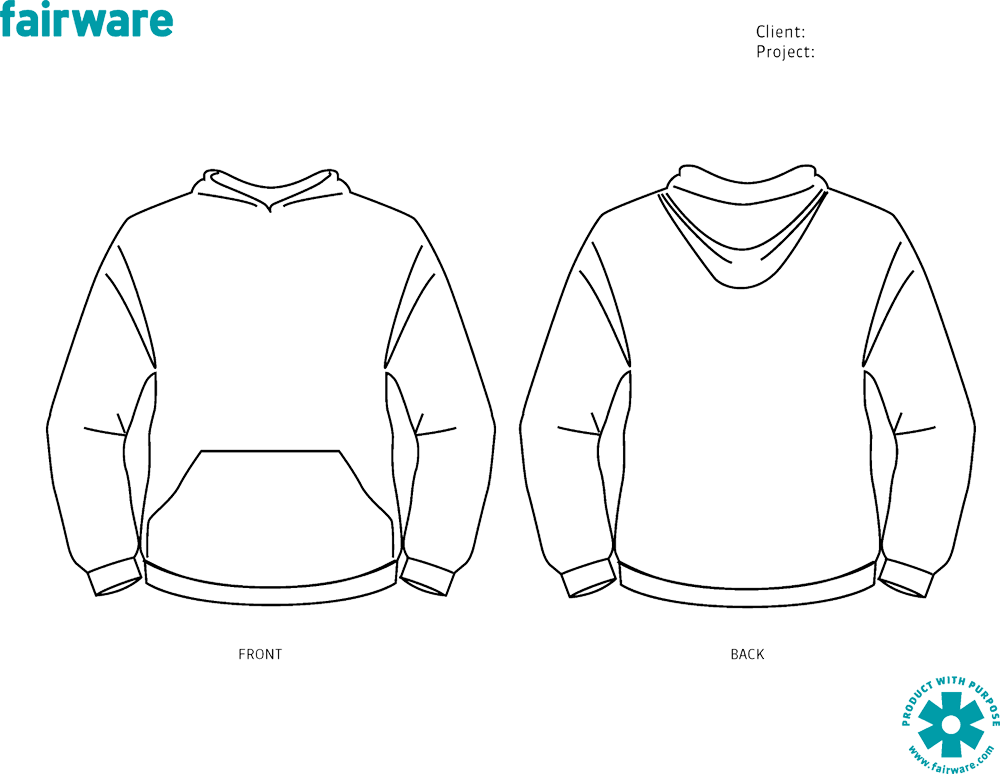 Hoodie clipart template front, Hoodie template front.
