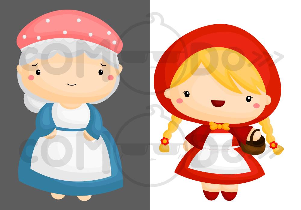 Little Red Riding Hood Clipart & Little Red Riding Hood Clip Art.