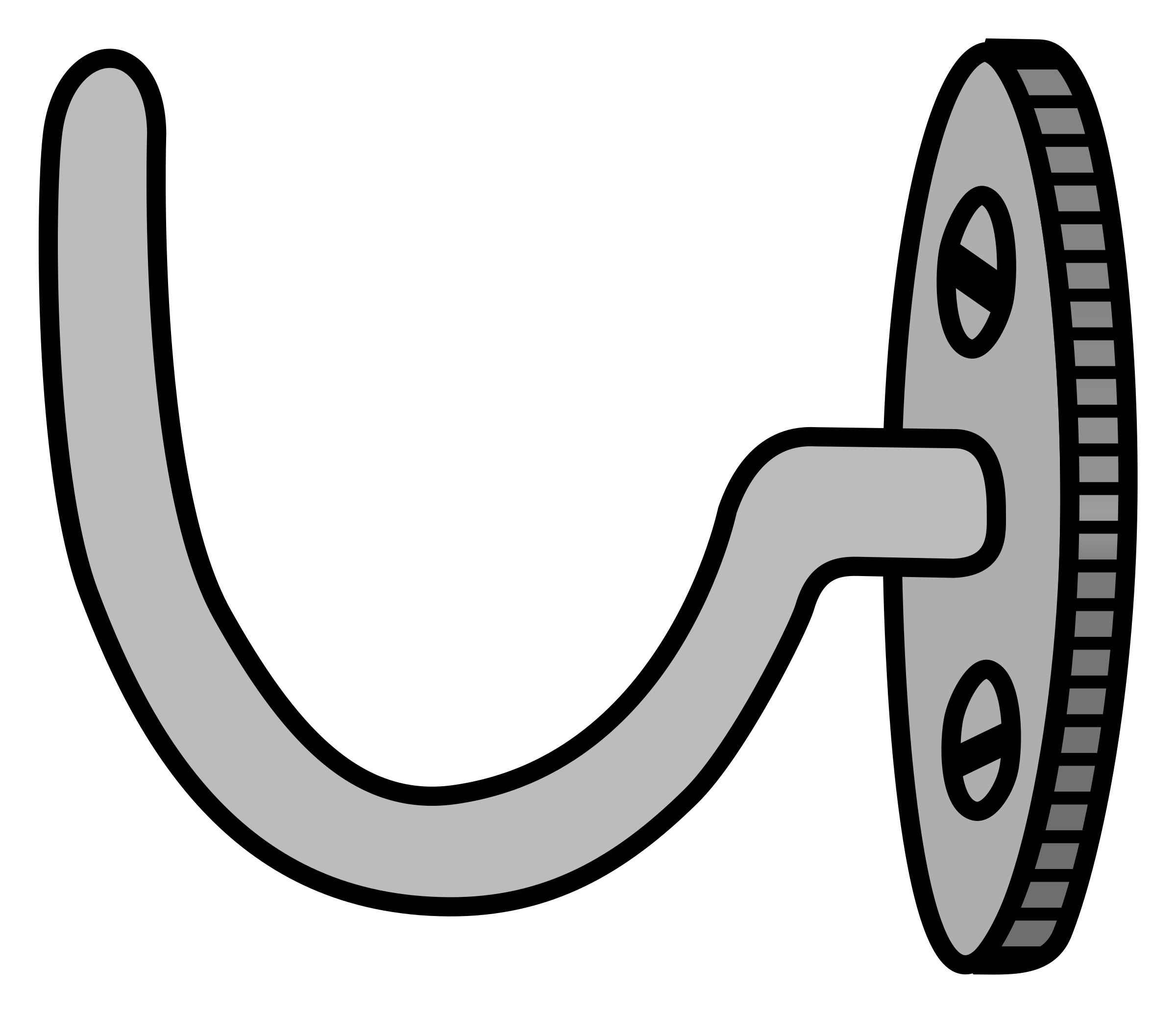 Free Hook Clipart Black And White, Download Free Clip Art.