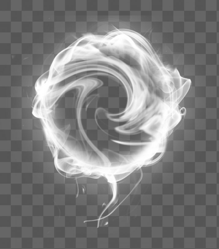 Smoke ring PNG.