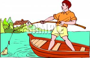 Hooked clipart #15