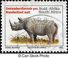 Clip Art of South Africa Postage Stamp Verwoerd 1901.