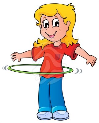 Hula Hoop Clipart.