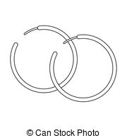 Hoop earrings Clip Art Vector and Illustration. 281 Hoop earrings.