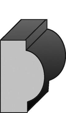 31x19x5.4 H3 LOSP FJ Hoop Pine Post Mould.