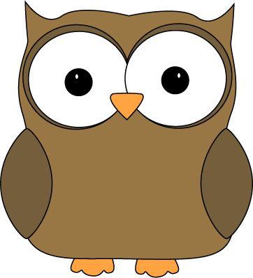 Cute Brown Owl.