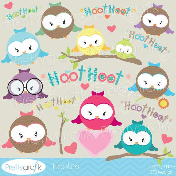 Owl hooters clipart Owl hooters clipart [CL531].