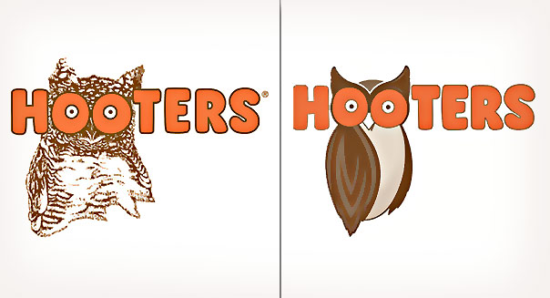 Hooters' Owl Logo Gets a Modern Makeover.