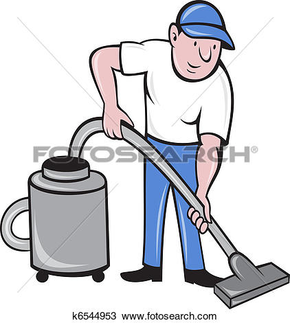 Clipart of Vacuum cleaner.