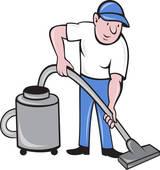Clipart of Vacuum cleaner.