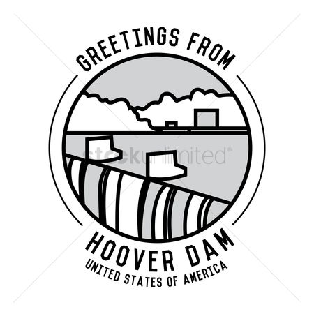 Free Hoover Dam Stock Vectors.