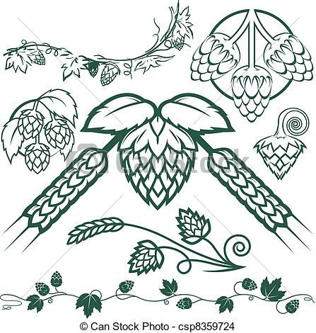 Hops Illustrations and Clip Art. 15,140 Hops royalty free.