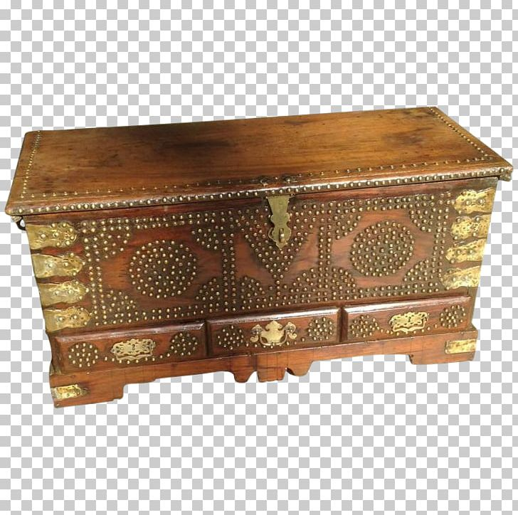 Table Hope Chest Trunk Anglo.
