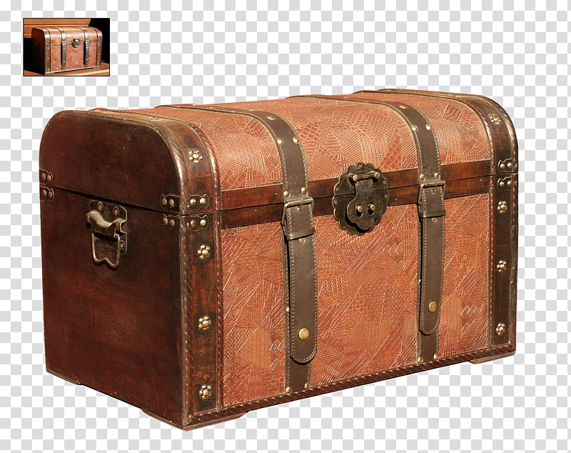 UNRESTRICTED Storage Box, brown hope chest transparent.