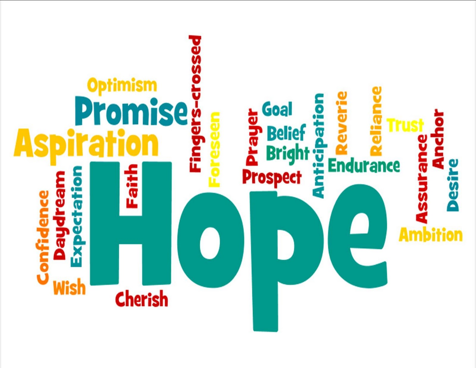 Free christian hope clipart.