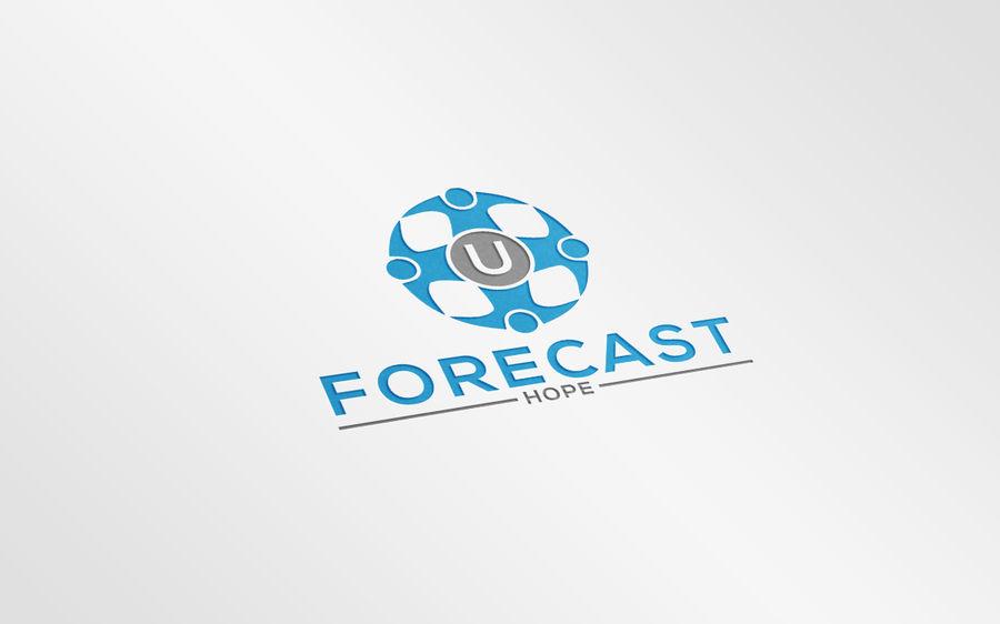 Entry #68 by disingmastar321 for U Forecast Hope Logo.