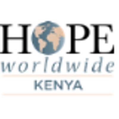 HOPE worldwide Kenya (@HOPEwwKenya).