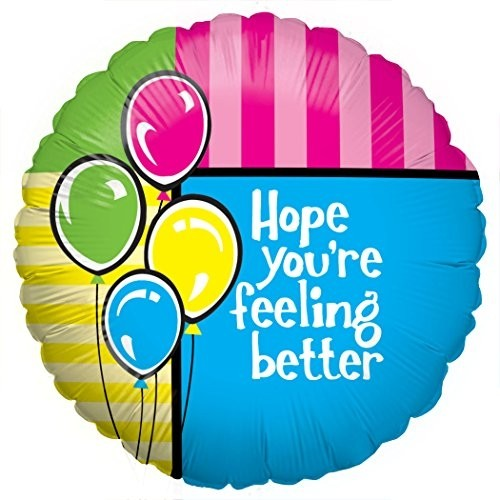 Hope You\'re Feeling Better Balloon.