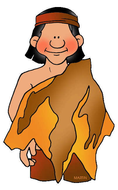 Free Native Americans Clip Art by Phillip Martin, Southwest Hopi Man.