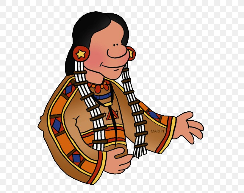 Great Plains Native Americans In The United States Clip Art.