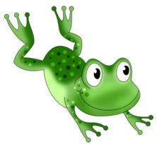 Hopping frog clipart 1 » Clipart Station.