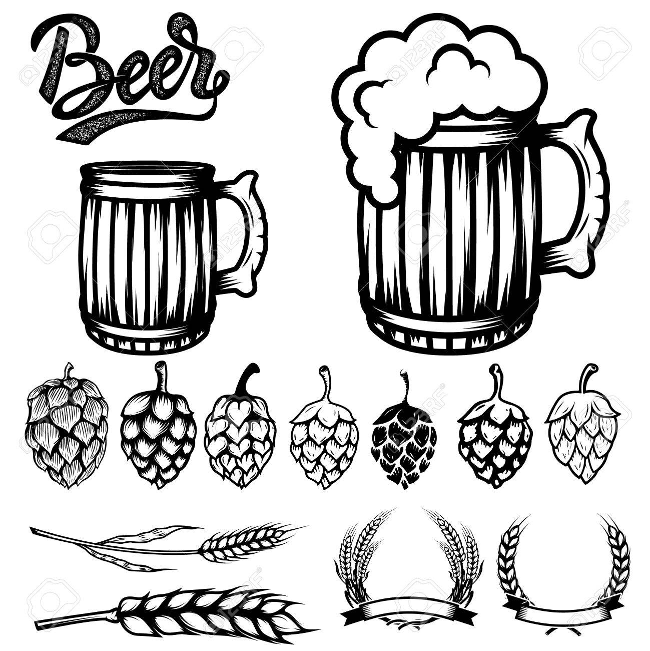 137 Hops free clipart.