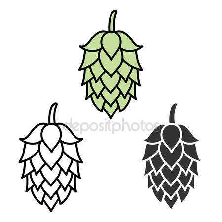 Hops Stock Vectors, Royalty Free Hops Illustrations.
