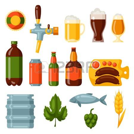 1,563 Hops And Malt Stock Vector Illustration And Royalty Free.